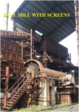 BALL MILL WITH SCREENS