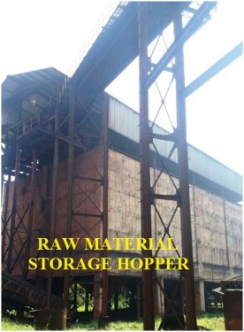 RAW MATERIAL STORAGE HOPPER